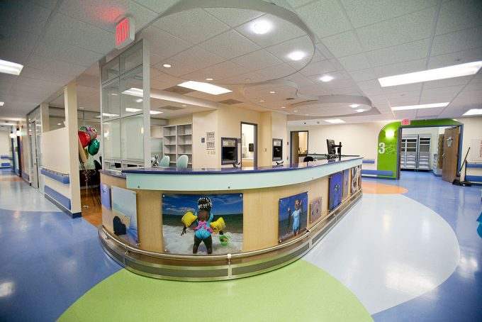 Patient Room At Shands Hospital